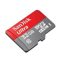 Jual  MicroSD Sandisk 32GB Class 10 UHS-I + Adapter