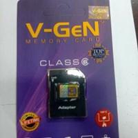 Jual Micro SD V-Gen 8gb Class 6