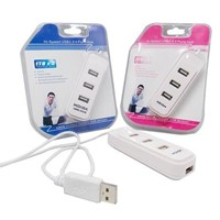 Jual USB Hub 4 Port Mdisk Dorong Tarik