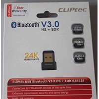 Jual CLiPtec USB Bluetooth Dongle V3.0 HS+EDR dongle