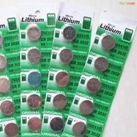 Jual Baterai BIOS Lithium CR2032 3V