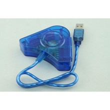 USB PS II 2 PLAYER CONVERTOR (2 IN 1)