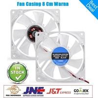 Jual Fan Casing 8 cm lampu Warna