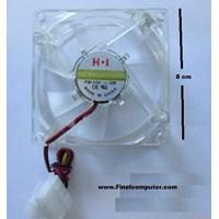 Jual Fan Casing 8 cm lampu Warna (Komputer Bintaro Pondok Indah Rempoa Ciputat Lebak bulus Pondok Pinang RS FATMAWATI Jakarta Selatan)