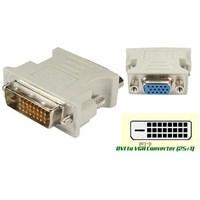 Jual Konverter DVI To VGA 24 + 1 Pin (Komputer Bintaro)