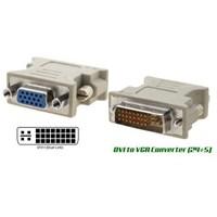 Jual Konverter DVI To VGA 24 + 5 Pin (Komputer Bintaro)