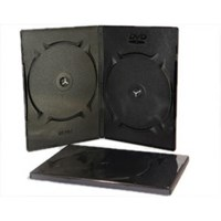 Jual Casing DVD Hitam - GT Pro DVD Case  Double 9mm