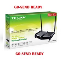 Jual Router Wireless TP-LINK High Power Wireless Router TL-WR841HP (HG) 9dbi