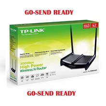 Router Wireless TP-LINK High Power Wireless Router TL-WR841HP (HG) 9dbi