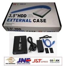 Casing External Harddisk 3.5 Inch Sata (Case HDD Eksternal Sata USB)
