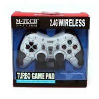 Jual Gadget USB  GAMEPAD WIRELESS SINGLE 3 IN 1 TURBO MTECH ( PC+PS2+PS3)