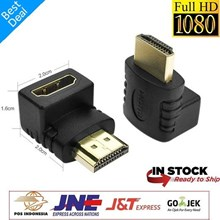 Konektor Plug Hdmi bentuk L Shape 90 drajat  Sambungan Female to male