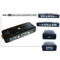 Distributor KVM Switch 4-PORT - USB 3