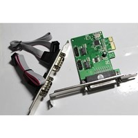 Jual PCI EXPRESS io Card  2 x SERIAL + 1 x PARALLEL port high quality speed 2