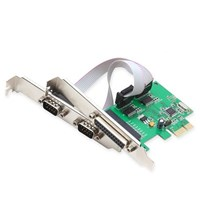 Distributor PCI EXPRESS io Card  2 x SERIAL + 1 x PARALLEL port high quality speed 3