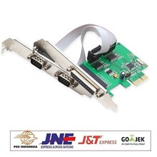 PCI EXPRESS io Card  2 x SERIAL + 1 x PARALLEL port high quality speed