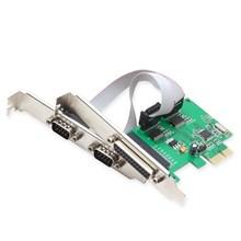 PCI EXPRESS io Card  2 x SERIAL + 1 x PARALLEL por