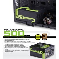 Jual Power Supply Dazumba 500 Watt Modular Waranty Lifetime 2