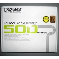 Beli Power Supply Dazumba 500 Watt Modular Waranty Lifetime 4