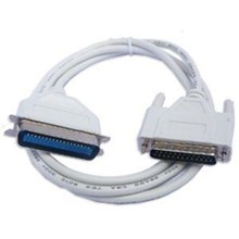 Kabel Printer Paralel LPT 25 Pin Male Female – Putih [3 M]