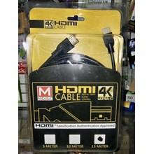 Kabel Hdmi V 1.4 Mdisk ( Hd 1080 - Gold Plate ) 15