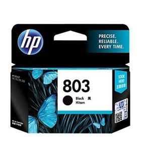 Tinta Hp 803 Black Ink Cartridge