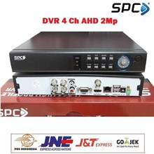 DVR CCTV ALAT PEREKAM CCTV SPC 4 CHANNEL 5 IN 1 AHD Up To 2Mp