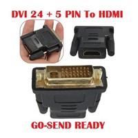 KONEKTOR  CONNECTOR  CONVERTER  DVI 24 + 5 Pin To HDMI