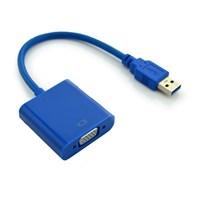 Jual KABEL USB 3.0 To VGA Display Adapter USB 3.0 Cable Converter 2