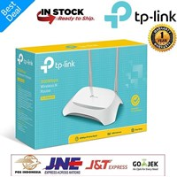 ROUTER Wireless TP-LINK TL-WR840N 300 MBPS 2 Antena 1