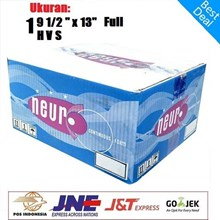 Kertas Continuous Forms A4 - 9.5 X 11 Inch 1 Ply Merek NEURO Full