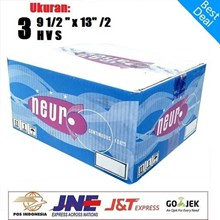 Kertas Continuous Forms A4 - 9.5 X 11 Inch 3 Ply Merek NEURO Bagi 2