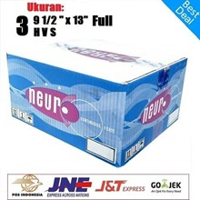 Kertas Continuous Forms A4 - 9.5 X 11 Inch 3 Ply Merek NEURO Full