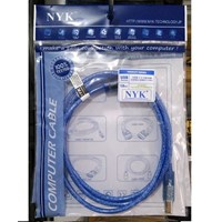 Kabel Printer Usb Merk NYK 1.5 Meter Hi-Speed 480Mbps