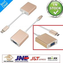 USB 3.1 Type C Converter To VGA Projector Adapter