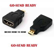 Konektor Converter Adapter HDMI Female To Micro HDMI Male