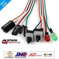 Jual Kabel Tombol Power Switch Front Panel Led Button Komputer Cpu