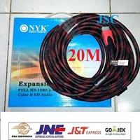 Jual Kabel HDMI Jaring NYK 20M - 20 Meter