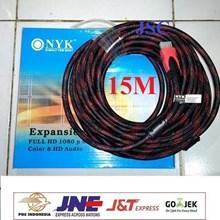 Kabel HDMI Jaring NYK 15M - 15 Meter