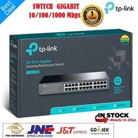 Jual TP Link Switch 24 Port TL SG1024D Gigabit Tplink 24port TLSG1024D 1000Mbps