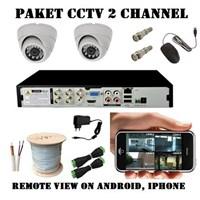 Jual Paket Kamera CCTV 4 Kamera 2 Mp HD