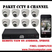 Jual Paket Kamera CCTV 8 Kamera  2 Mp HD