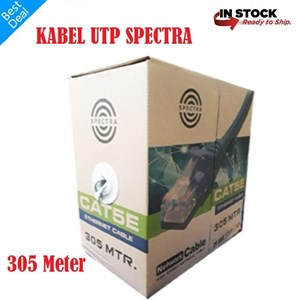 Dari Kabel Lan Spectra UTP Cat5e 1 BOX 305M 0