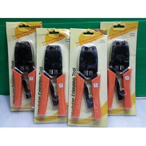Dari Tang Crimping Tool - Crimping Tool 2 Hole HT-500R Rj45 Dan Rj11 1