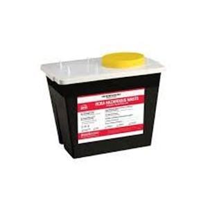 2-Gallon Hazardous RCRA Container Waste