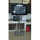 "Braket TV Standing LCD 32"" – 50"" Stainless mirror 6"