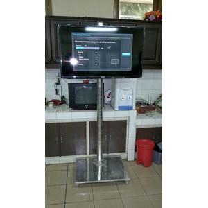 """Dari Bracket TV Standing LCD 32"""" – 50"""" Stainless mirror 5"""
