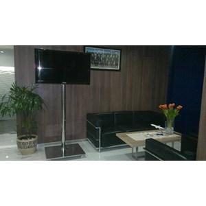 """Dari Bracket TV Standing LCD 32"""" – 50"""" Stainless mirror 4"""