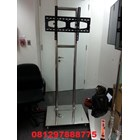 Bracket TV Standing Stainless mirror 2tiang Kuat & kekar 4