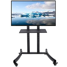 Bracket TV Looktech 65S TV Stand Mount dgn Roda 32'-65